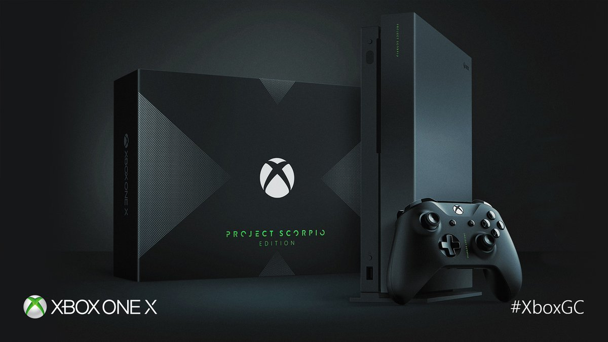 Xbox One X Project Scorpio Pachter gamestop