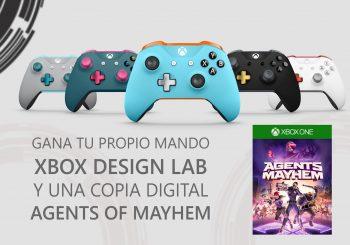 Gana tu propio mando Xbox Design Lab y una copia de Agents of Mayhem