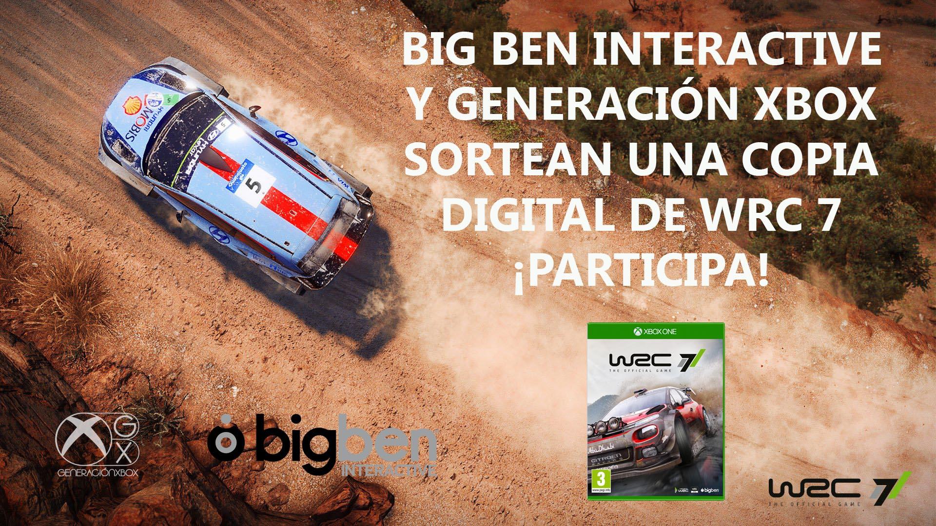 WRC 7 sorteo