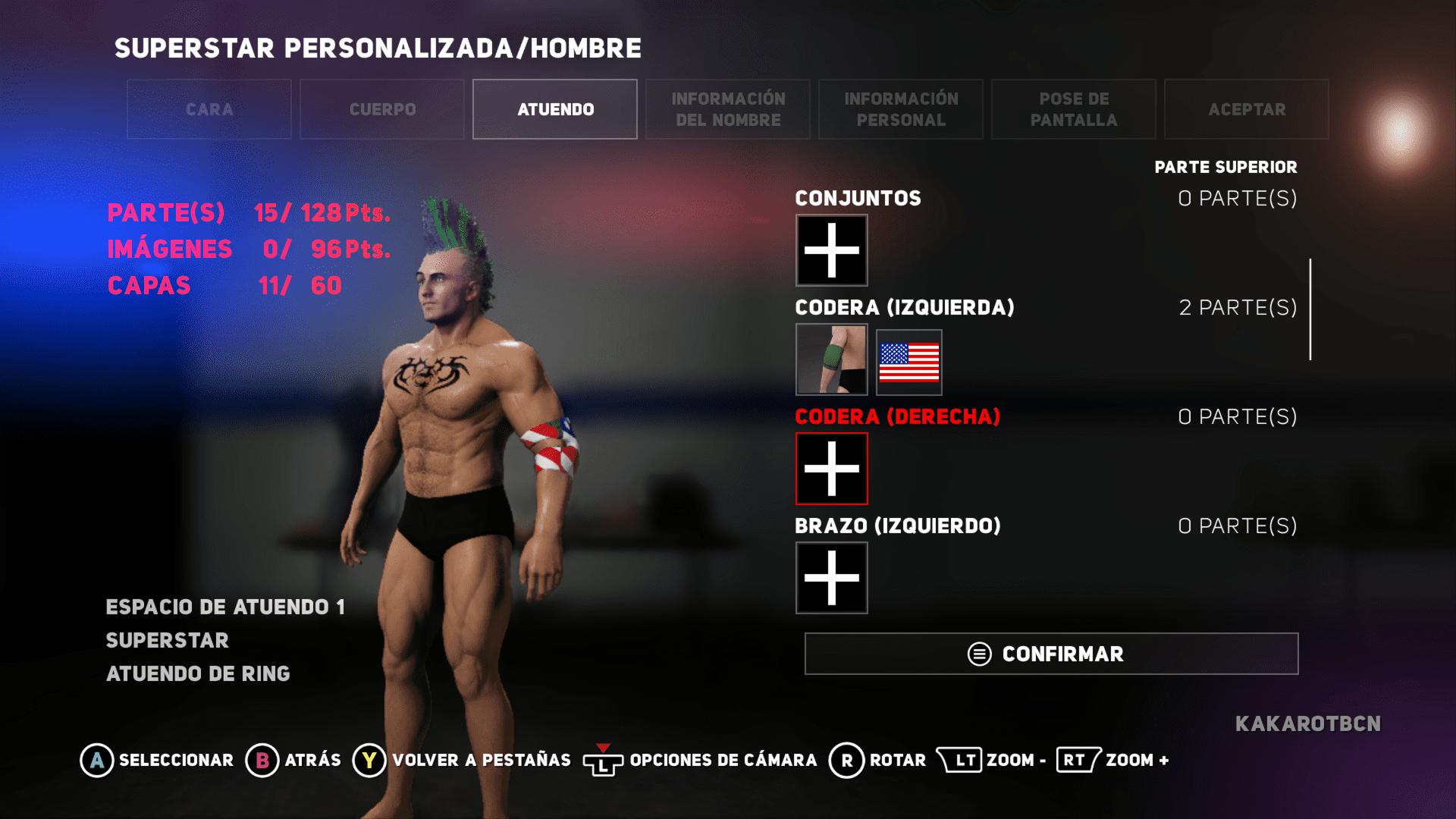 Analisis de WWE 2K18 3