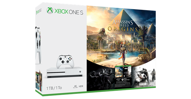 Assasin's Creed Origins Pack Xbox One S