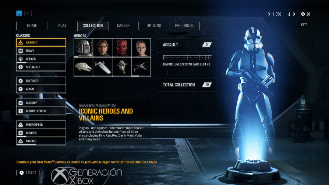 Impresiones Beta Star Wars Battlefront ii