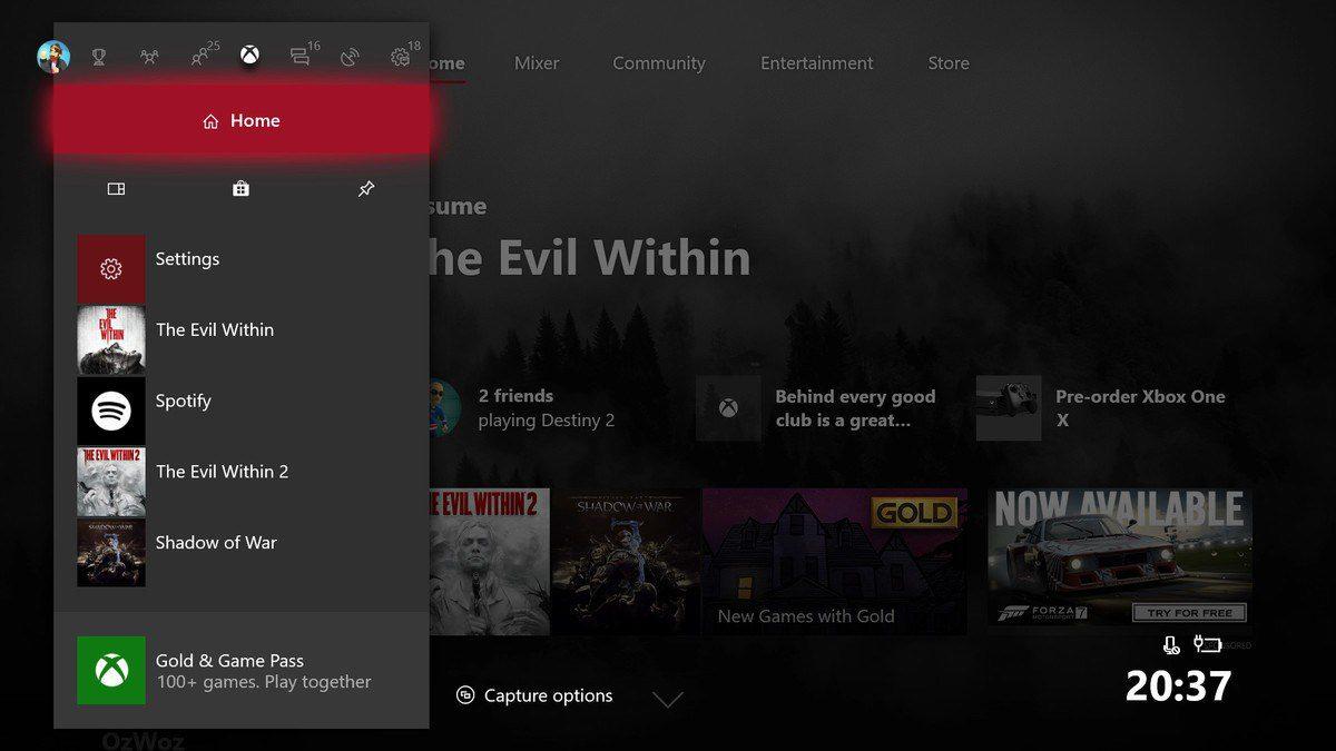 Interaz Xbox One