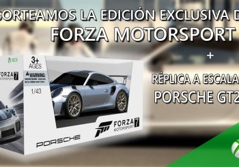 Sorteamos una copia de Forza Motorsport 7 + réplica a escala del Porsche GT2RS