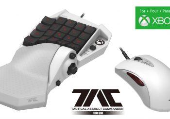 HORI lanzará el TAC PRO One, primer teclado y ratón para Xbox One