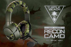 El 27 de octubre salen a la venta los Turtle Beach RECON CAMO para Xbox