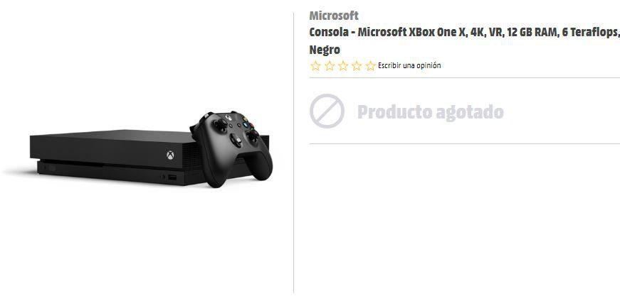 Reservas Xbox One x
