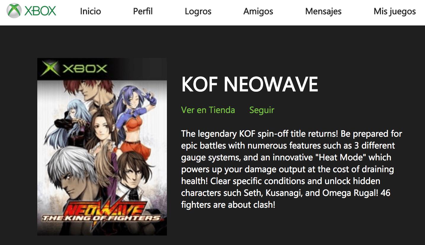 [Actualizada] Varios juegos de Xbox original aparecen listados en la web de Xbox