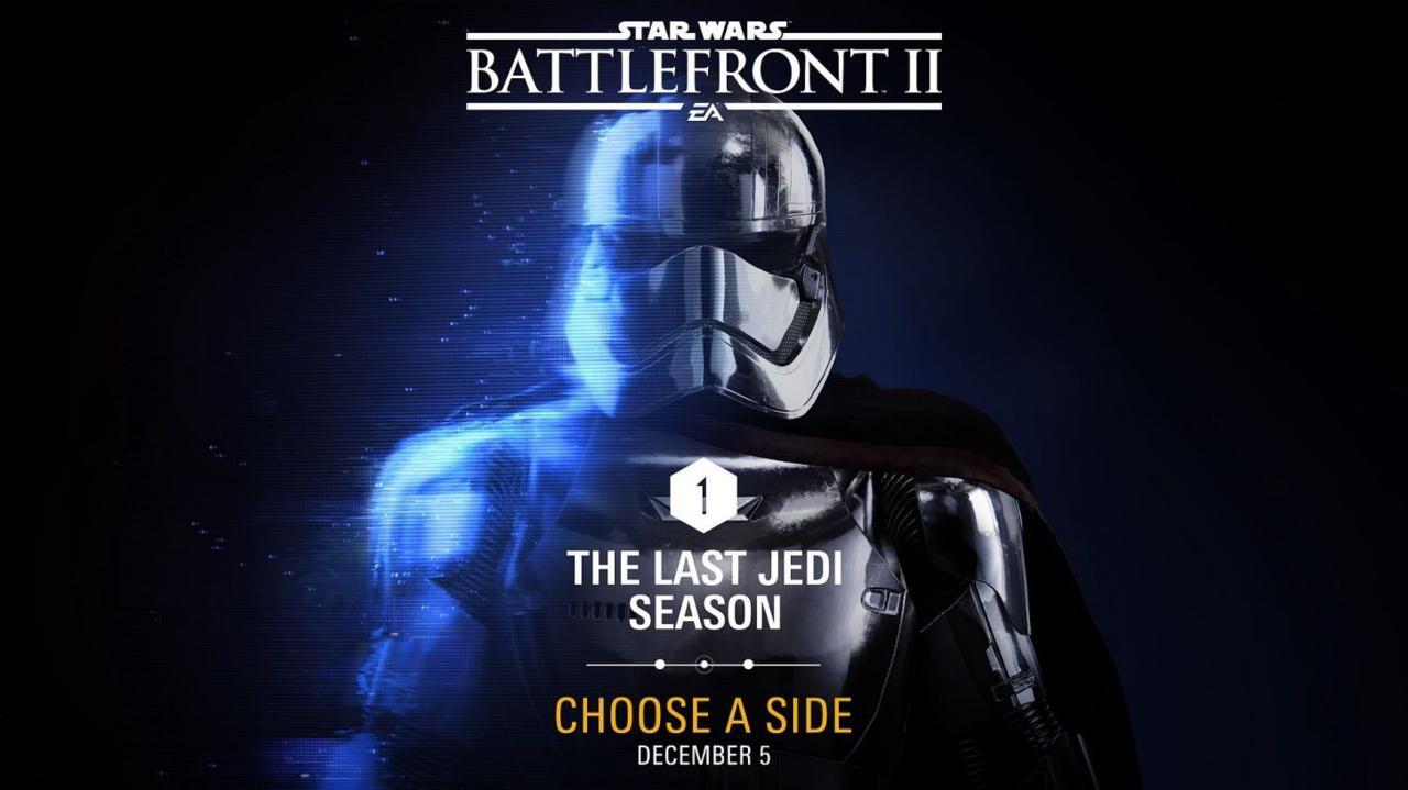 Fecha de lanzamiento del primer DLC gratuito de Star Wars: Battlefront II: The Last Jedi 1
