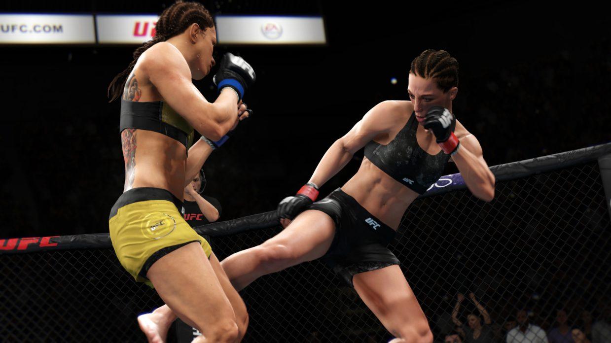 EA Sports presenta la nueva tecnología de animación de UFC 3 1