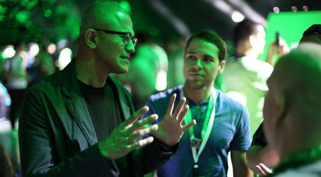 Nadella Xbox One X