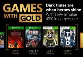 Estos son los Games With Gold de enero