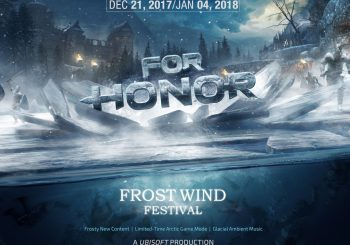 """Llega el evento, """"Frost Wind Festival"""" a For Honor"""