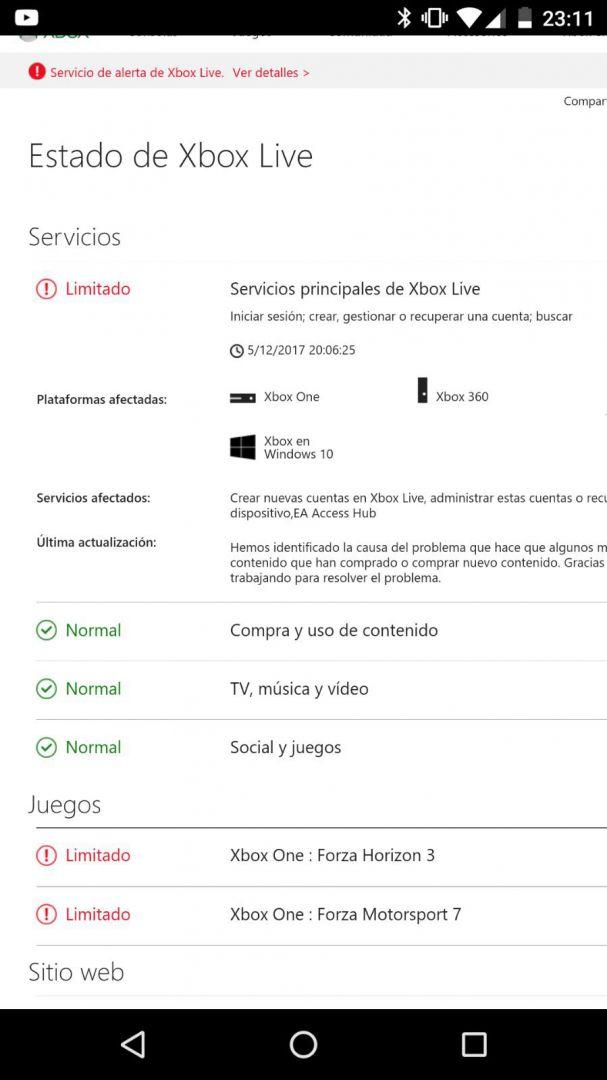 [Actualizada] Xbox Live se encuentra caído en estos momentos, problemas para acceder 1