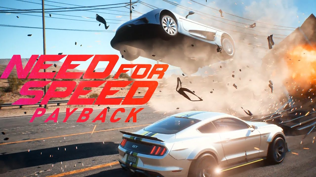 Need For Speed Payback A 4k Nativos En Xbox One X Doblando La