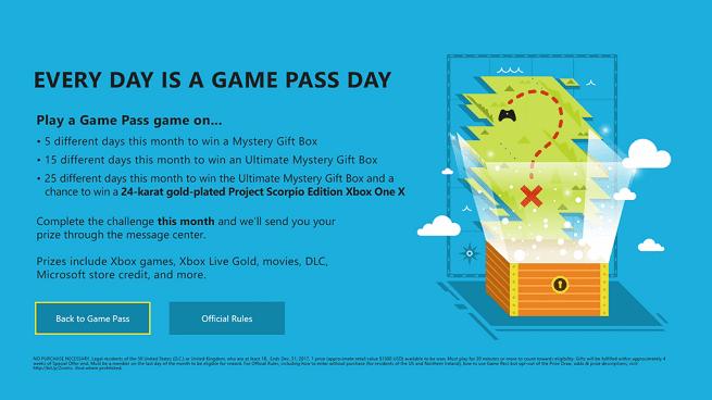 Microsoft sortea una Xbox One X: Project Scorpio Edition chapada en oro de 24 quilates 1