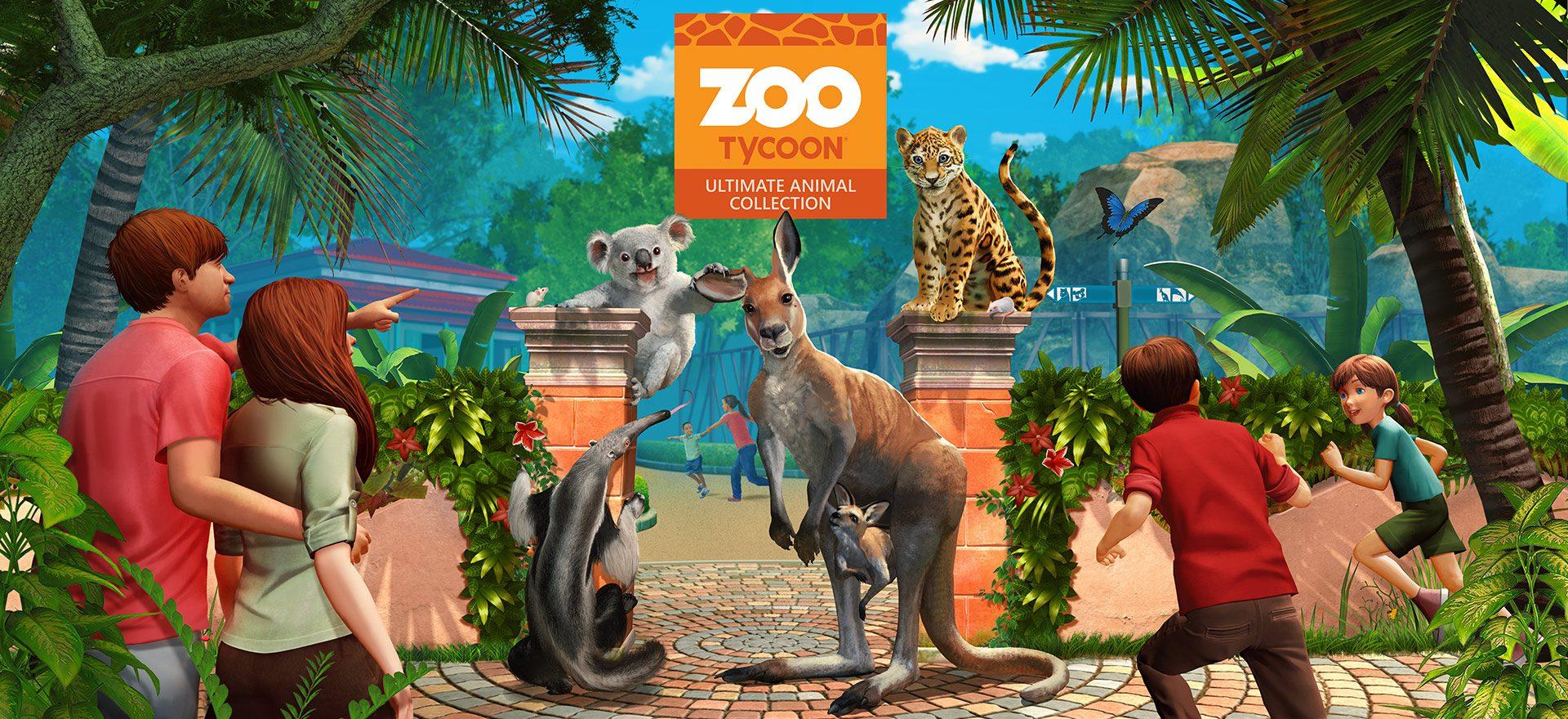 Zoo Tycoon Zoo Crafting