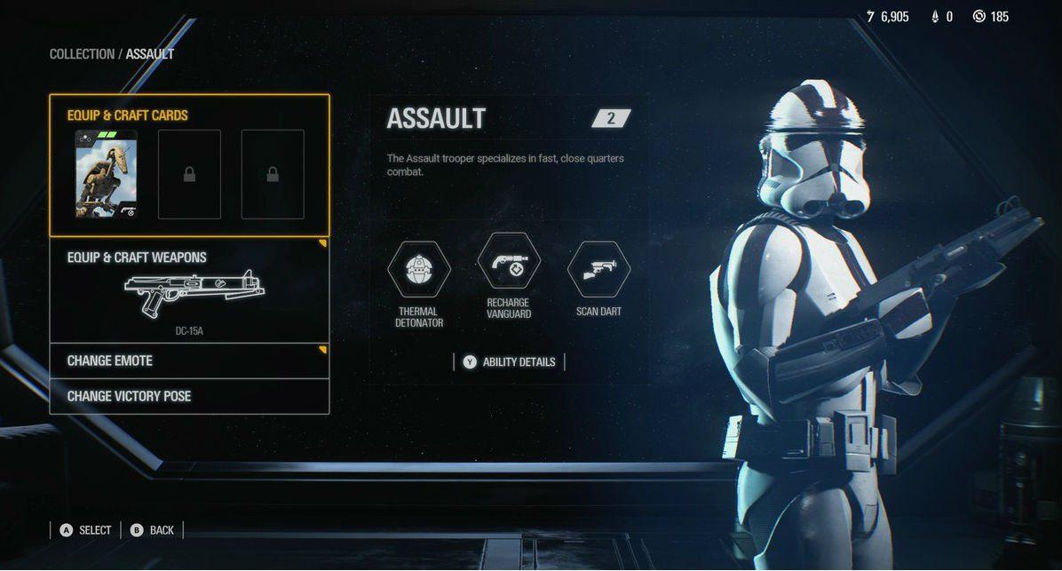 EA DICE ya está trabajando en el nuevo sistema de progresión de Star Wars Battlefront II