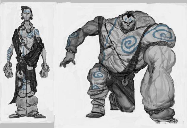Diseños de nuevos Heroes