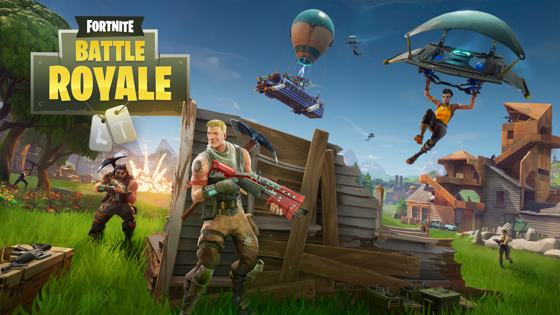 Fortnite battle royale recibe nueva actualizaci n del mapa for World no 1 home