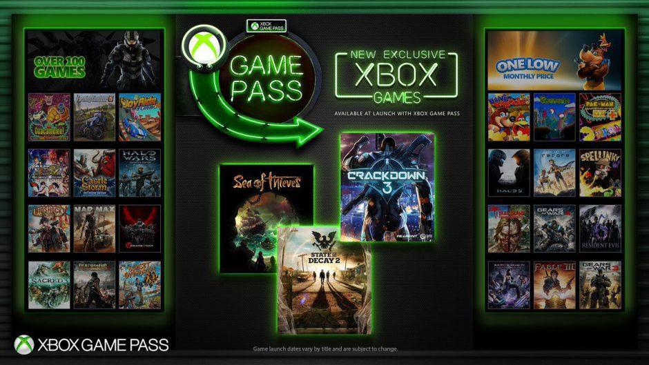 Microsoft podría estar ya tirando el anzuelo del Xbox Game Pass junto al Gold