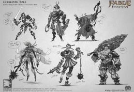 Os mostramos artworks y concepts inéditos del cancelado Fable Legends