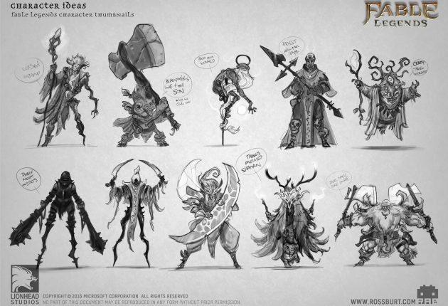 Conceptos generales de personajes