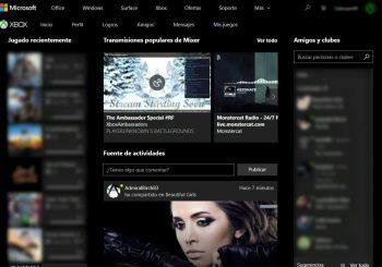 Así son los nuevos cambios en la web de Xbox para parecerse más a la aplicación