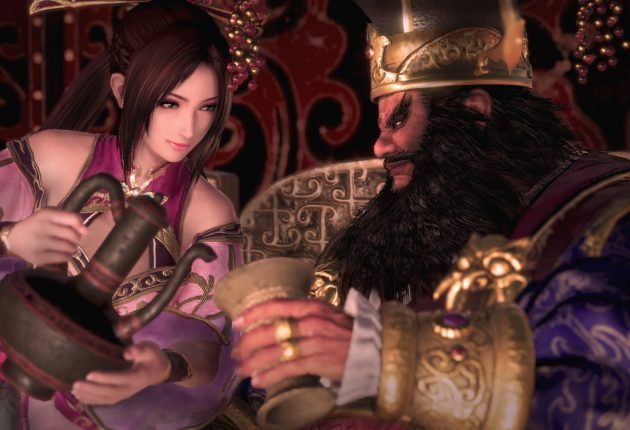 Escena in-engine de Dynasty Warriors 9