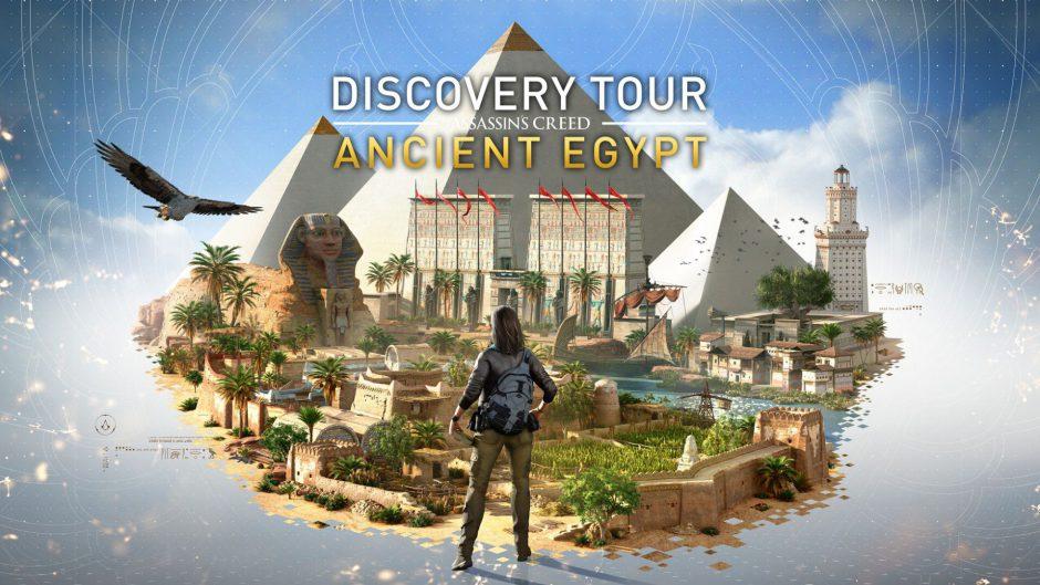 El modo Discovery Tour llega hoy gratis a Assassin's Creed Origins
