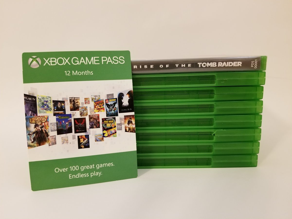 Game Pass Rose of the tomb raider
