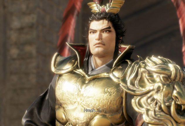 Este es Lu Bu.
