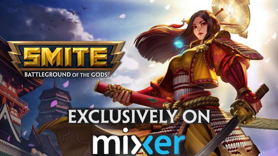 Mixer emitirá en exclusiva la SMITE Pro League y la SMITE Console Series