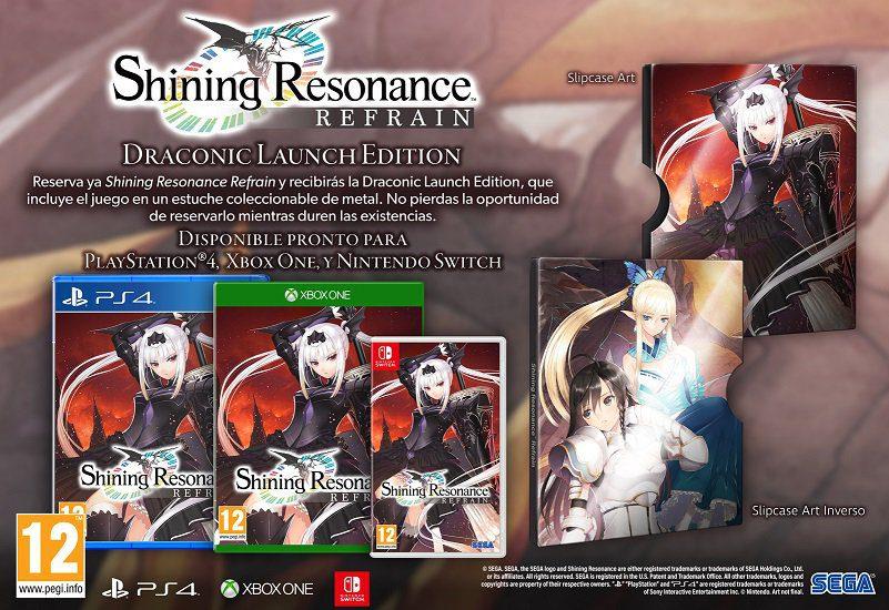 Más rol japonés para Xbox, SEGA anuncia Shining Resonance Refrain