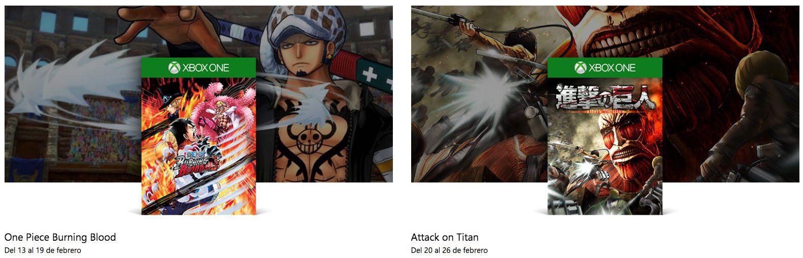 Repasamos los 5 títulos basados en anime que llegarán a Xbox One este 2018