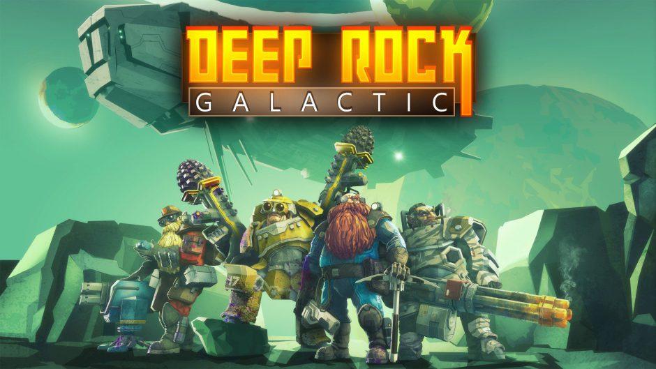 Deep Rock Galactic correrá a 1800p y 60 fps en Xbox One X y llegará este mes