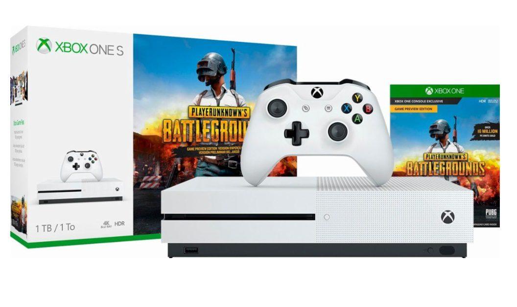 Anunciado Pack De Xbox One S De 1TB Acompañada De PUBG