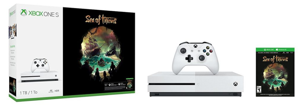 Se confirma el pack de Xbox One S 1Tb y Sea of Thieves