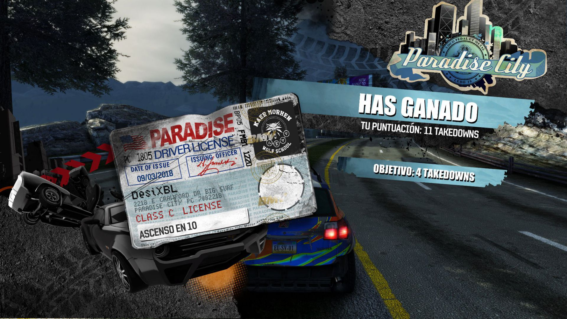 analisis burnout paradise remastered