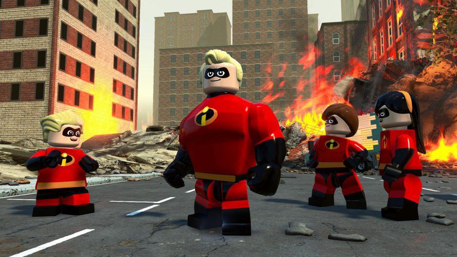 Primer Gameplay de LEGO Los Increíbles para Xbox One