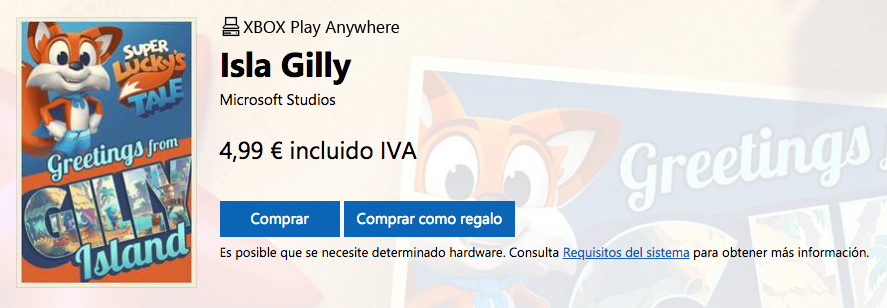 Super Lucky's Tale Gilly Island