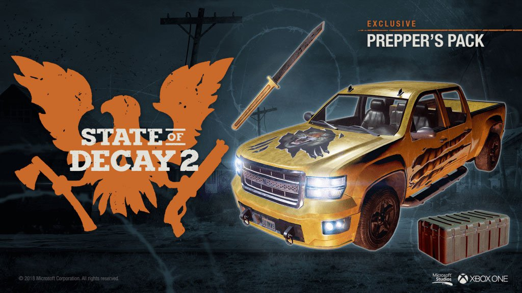 preppers pack State of Decay 2