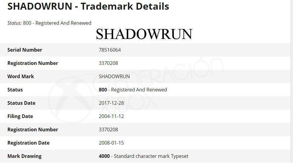 Microsoft vuelve a renovar la marca Shadowrun y aumenta las posibilidades de una nueva entrega 1