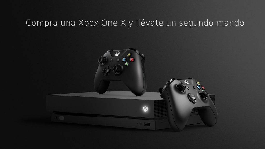Da el salto: A partir de mañana 5 de marzo Xbox One X más un mando extra por el mismo precio