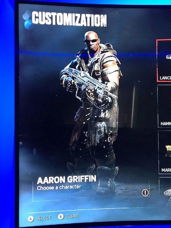 Aaron Griffin Gears of war 4
