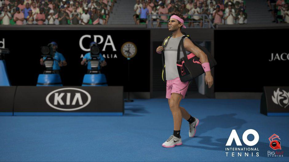 Nuevo Gameplay de AO International Tennis
