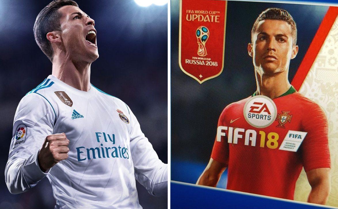 FIFA 18 se actualizará con FIFA 18 World Cup, de forma gratuita y con cambio de portada - Una distribuidora estadounidense ha filtrado FIFA 18 World Cup 18, el juego del Mundial de Rusia de EA Sports, que llegaría a finales de mayo con nueva portada.