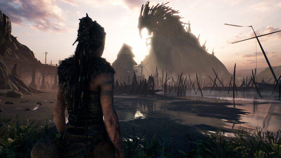 El modo gráficos enriquecidos de Hellblade en Xbox One X es idéntico a la versión máxima en PC