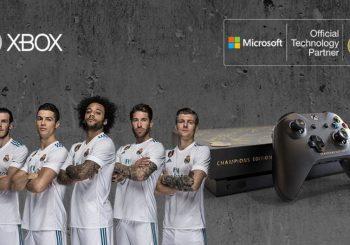 Microsoft sorteará esta edición única de la Xbox One X firmada por los jugadores del Real Madrid
