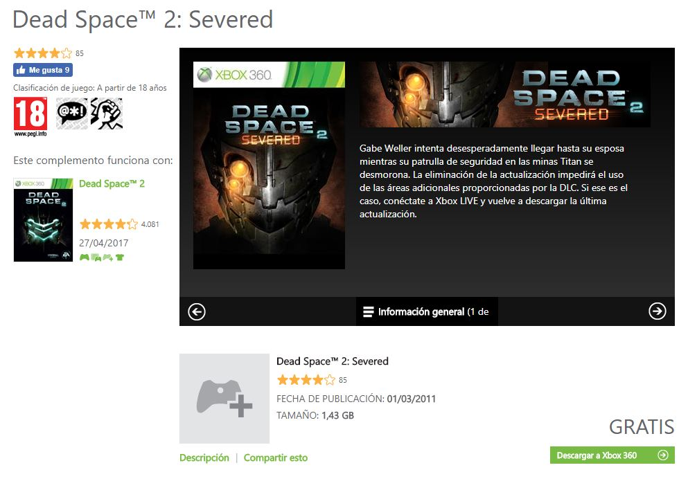 Dead Space Severed